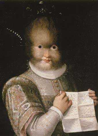 Antonietta Gonsalvus: un cordero con piel de lobo 2