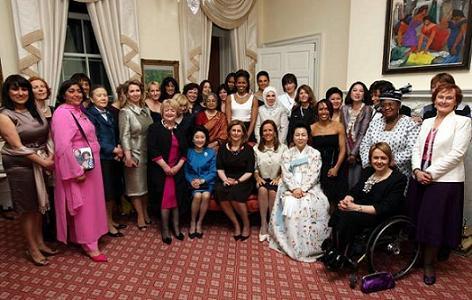 Michelle Obama y las primeras damas 2