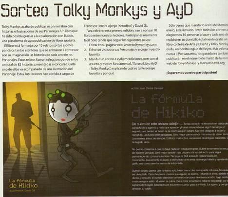 Sorteo: Libro de Tolky Monkys 2