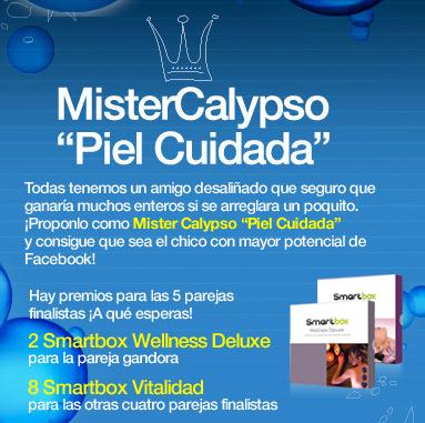 Consigue que uno de tus amigos sea el Mister Calypso 1