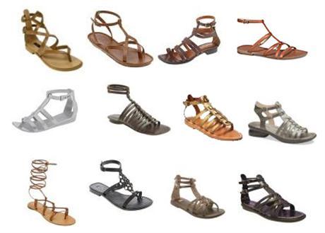 Las sandalias estilo gladiador, tendencia del verano 2010 3
