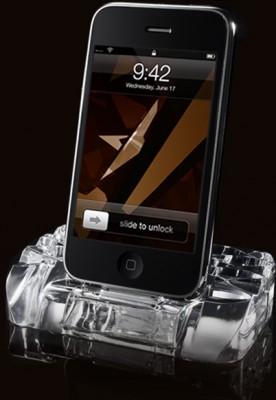 Soporte y cargador para iPhone 1