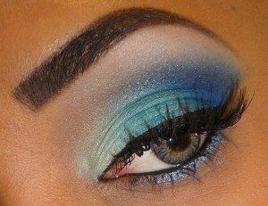 Maquillaje verano 2010: colores fluor 4
