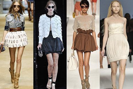 Las faldas de moda para este verano 2010 3