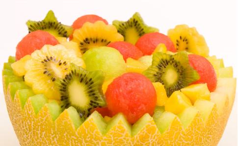 La fruta es más atractiva en forma de ensalada 3