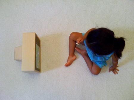 iPad convertido en una tele retro 2
