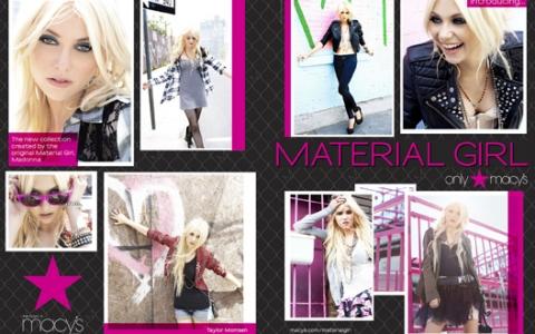 """La línea de ropa de Madonna y su hija, """"Material Girl"""" 3"""