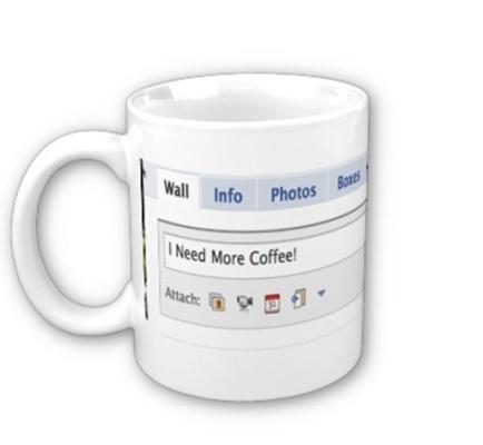 Taza para adictas a Facebook 3