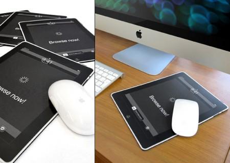 El iPad, una alfombrilla para tu ratón 1
