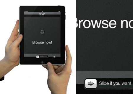 El iPad, una alfombrilla para tu ratón 2