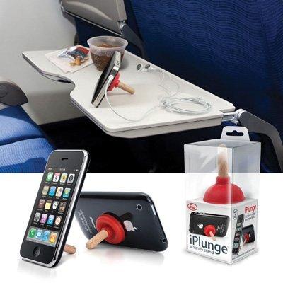 ¿Un desatascador o un soporte para iPhone? 3