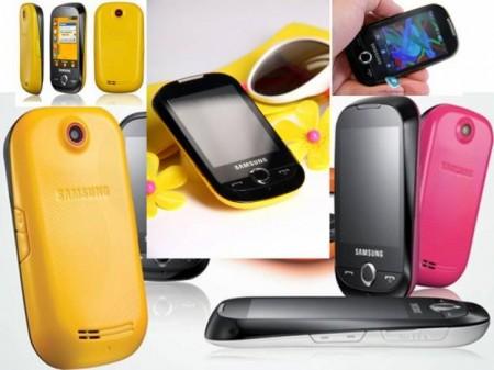 Móvil elegante Samsung Corby 3