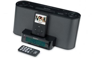 Radio-despertador ICF-DS11iP de Sony. 3