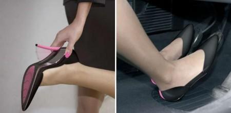 Zapatos con tacón plegable 3