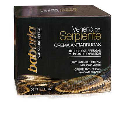 Crema antiarrugas Veneno de Serpiente. 3