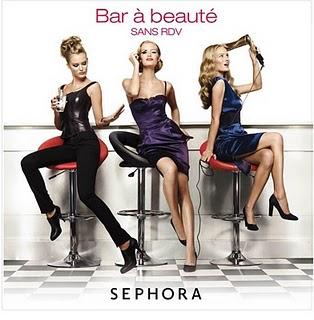 Bar de belleza de Sephora 3