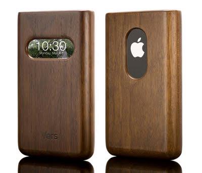 Fundas de madera para iPhone 3