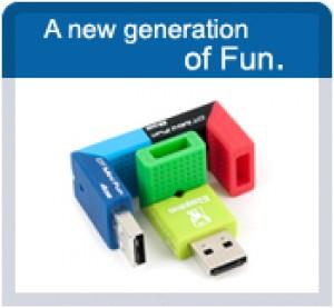 USB coloridos 3