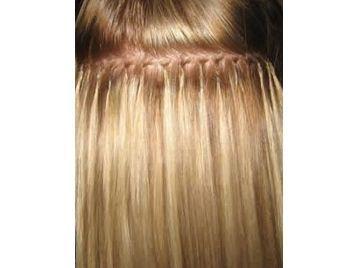 Extensiones con queratina para el cabello 4