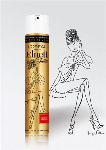 Laca para el cabello Elnett 3