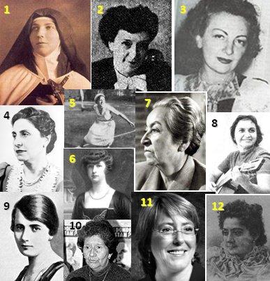 Mujeres en la sucesión de la historia 3