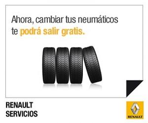 Disfruta de la conducción y de tus neumáticos con Renault Servicios 2