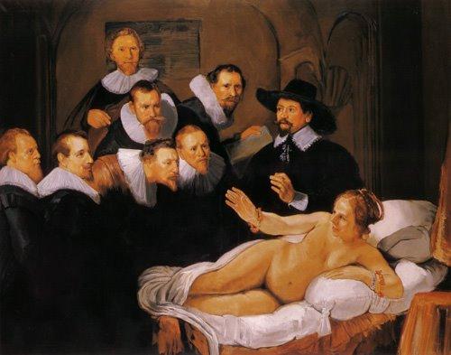 El desnudo de la mujer 3