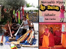 Mercadillo, Las Dalias en Ibiza 1