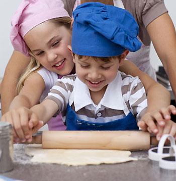 Los niños en la cocina 3