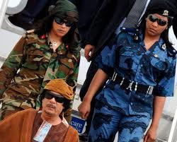 La guardia personal de Gadafi, la Jamahiriya 4