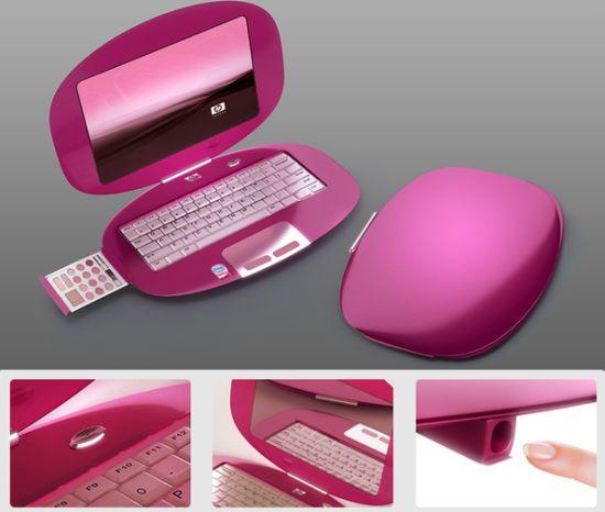 HP MakeUp: El prototipo de portátil femenino 1
