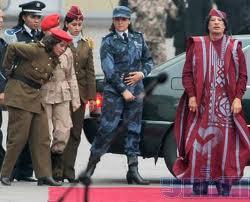 La guardia personal de Gadafi, la Jamahiriya 3