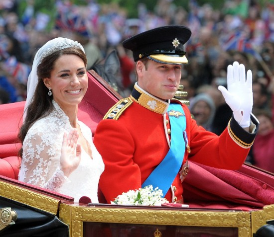Boda real Guillermo de Inglaterra y Kate Middelton 3