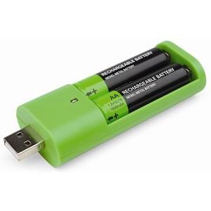 Recargar las pilas en el USB 1