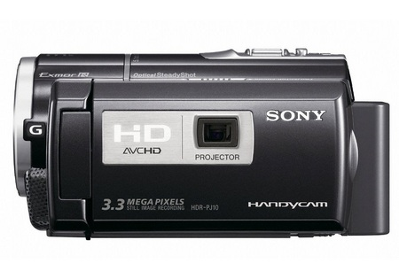 Sony y sus videocámaras con proyector integrado 3