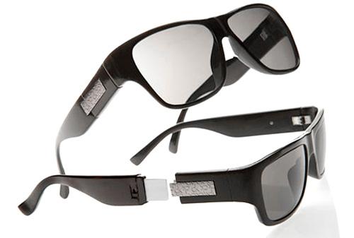 Gafas capaz de utilizarse como USB 1