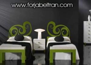 Muebles de forja actualizados 3