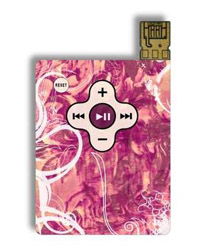 El MP3 en forma de tarjeta de crédito 1