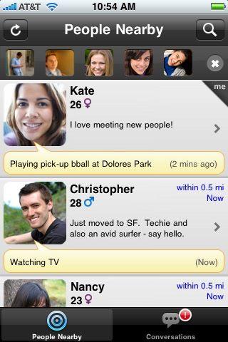 Nueva App para ligar por el iPhone e iPad: Loopt Mix 1
