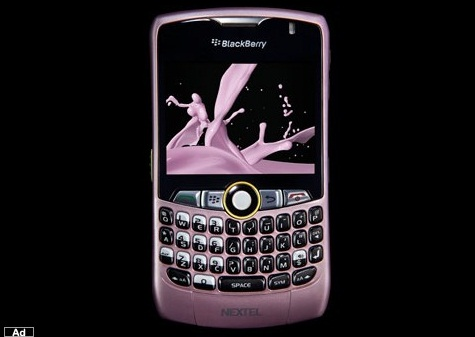 Blackberry 8350i Pink 3