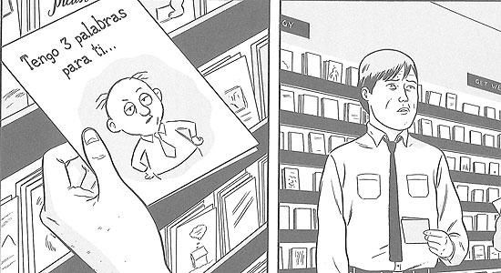 Comics, Rubia de Verano de Adrian Tomine 5