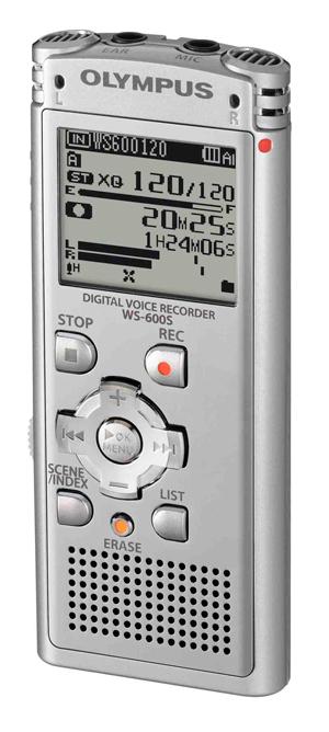 La compañía Olympus Imaging lanza al mercado la grabadora digital de voz WS-600S I 3