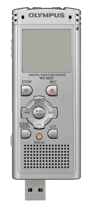 La compañía Olympus Imaging lanza al mercado la grabadora digital de voz WS-600S II 3