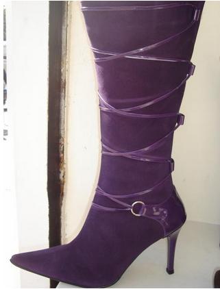 Botas de mujer en otoño 1