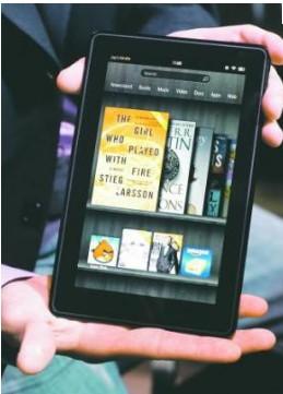 Amazon y su nueva tableta Kindle Fire 3