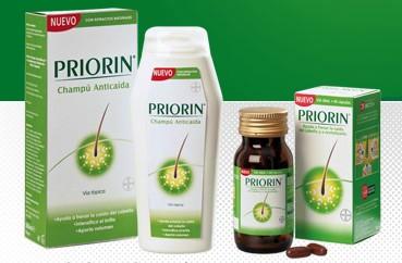 Consigue un pelo fuerte y sano con Priorin 2