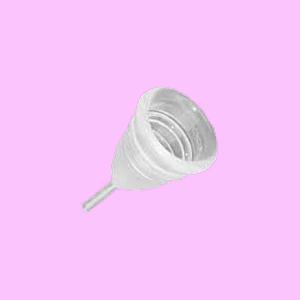 Una copa de luna para la menstruación