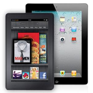 El iPad era el rey... y llegó Kindle Fire 1