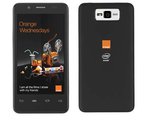 Orange lanzará un dispositivo Android con tecnología Intel 1