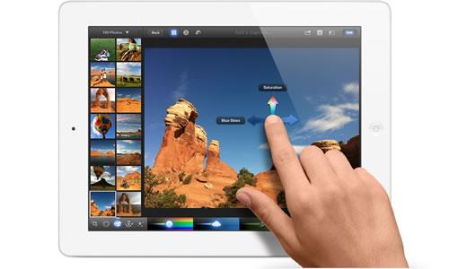 Retina, la tecnología que Apple suma a sus iPads 1